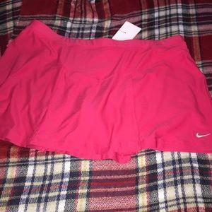 NWT XL Nike tennis skort skirt pink
